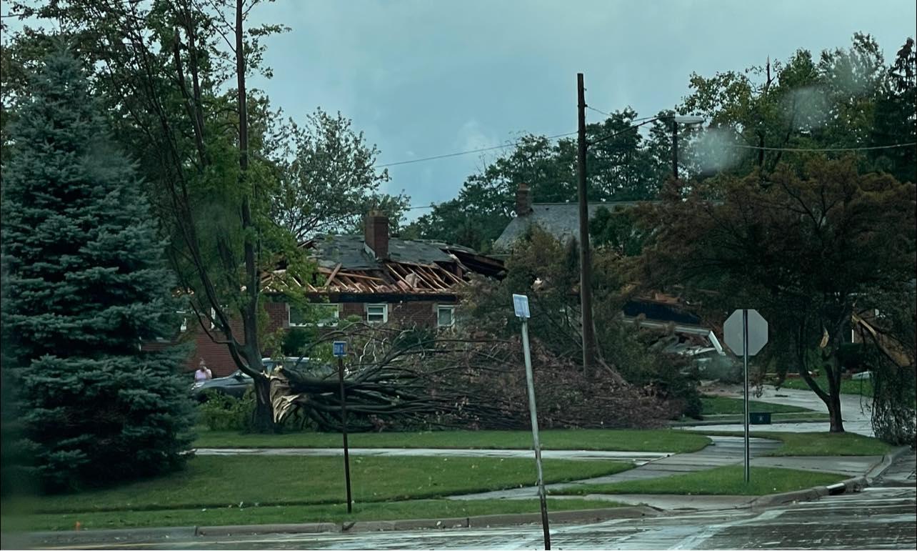 Wickcliffe storm damage