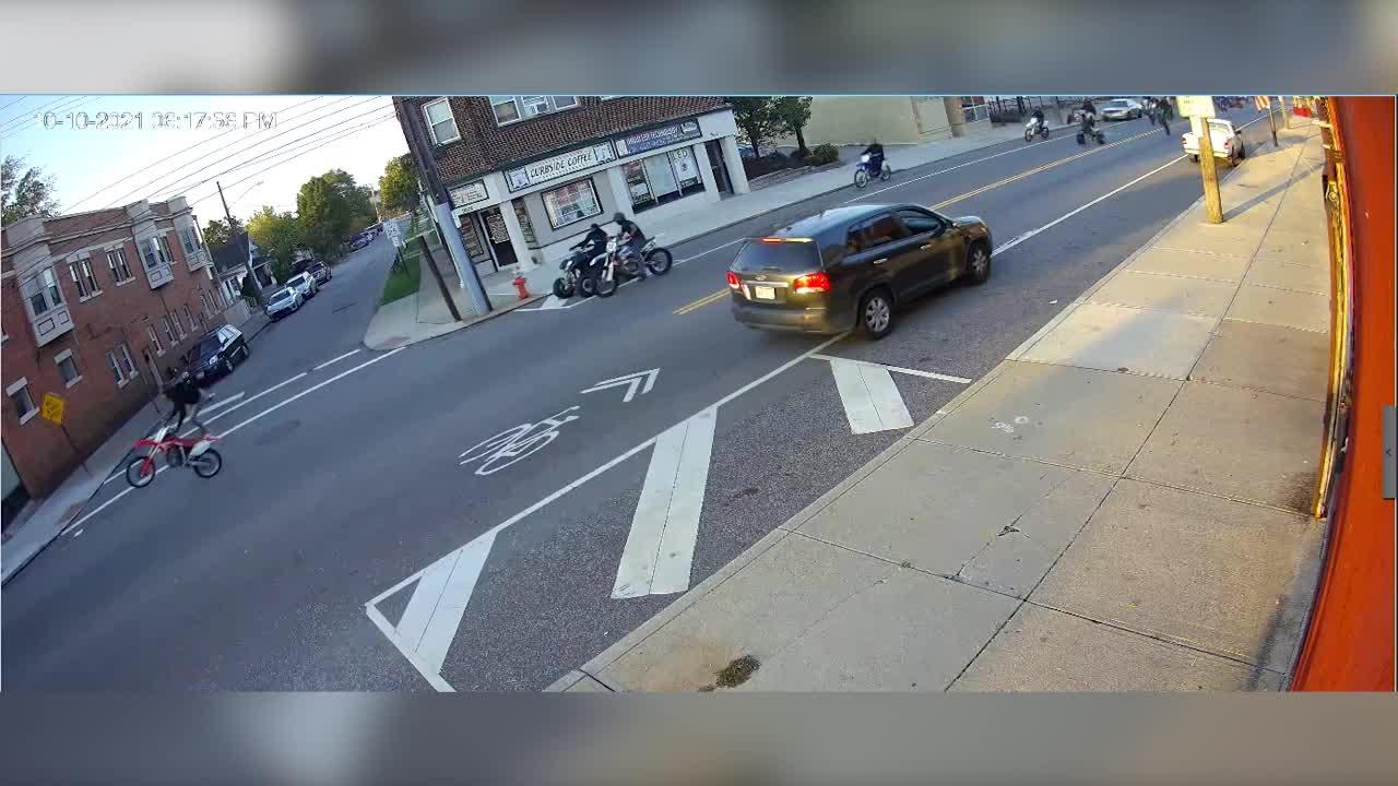 Cleveland dirt bike takeover