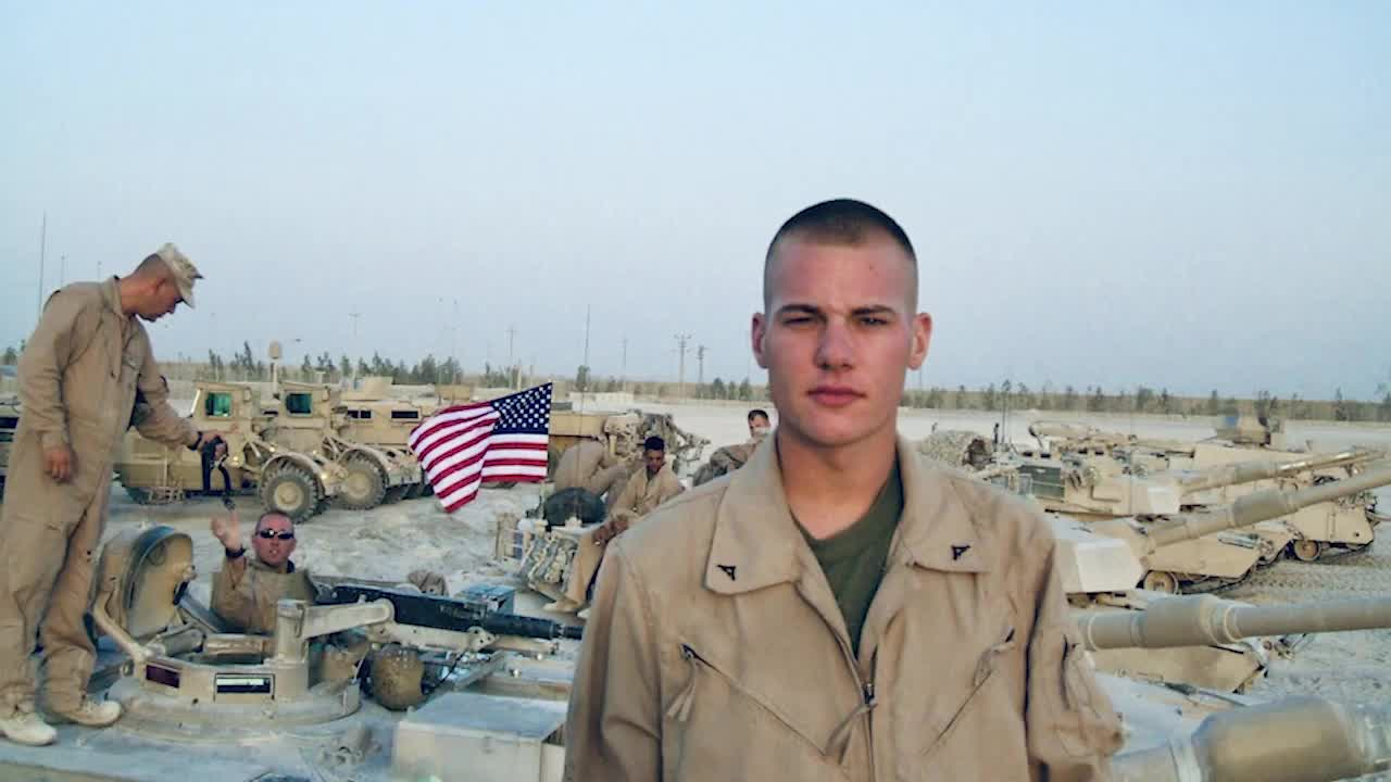Mark Stillion, Marine Corps, Kent State