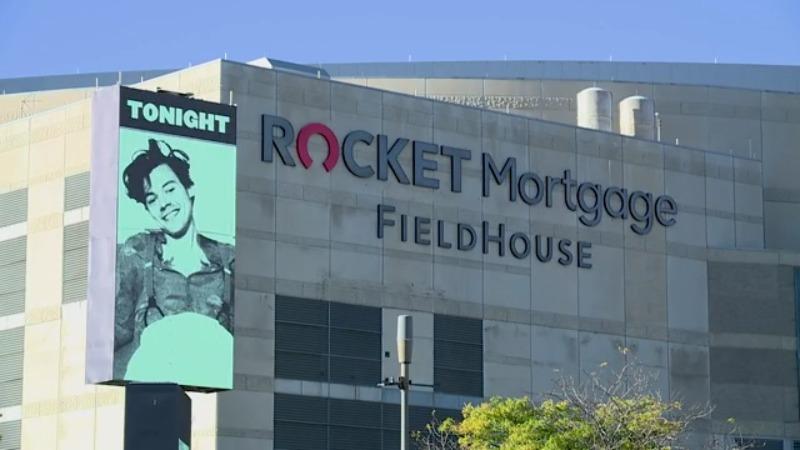 Rocket Mortgage FieldHouse, Harry Styles