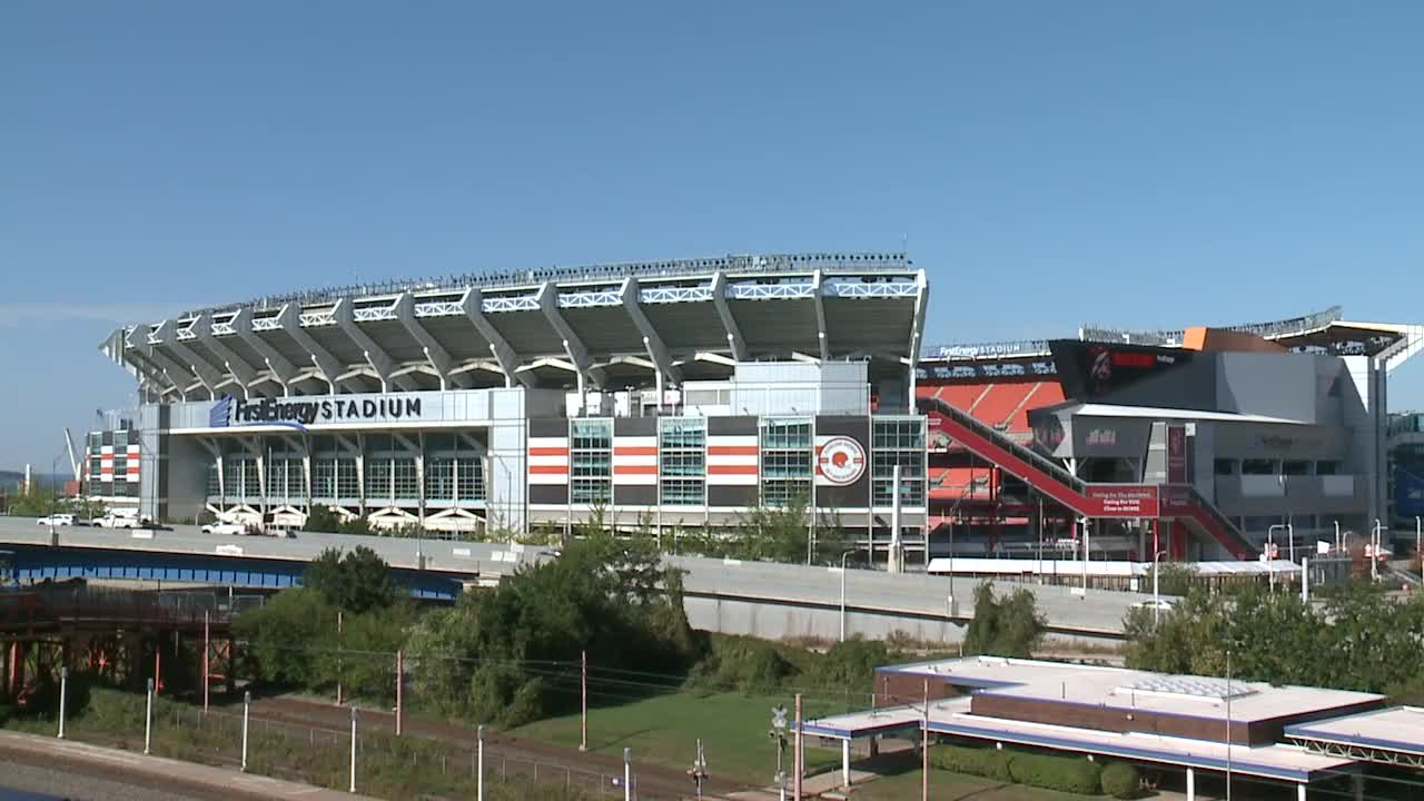 FirstEnergy Stadium, downtown Cleveland