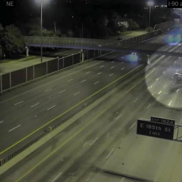 I-90 wrong way crash