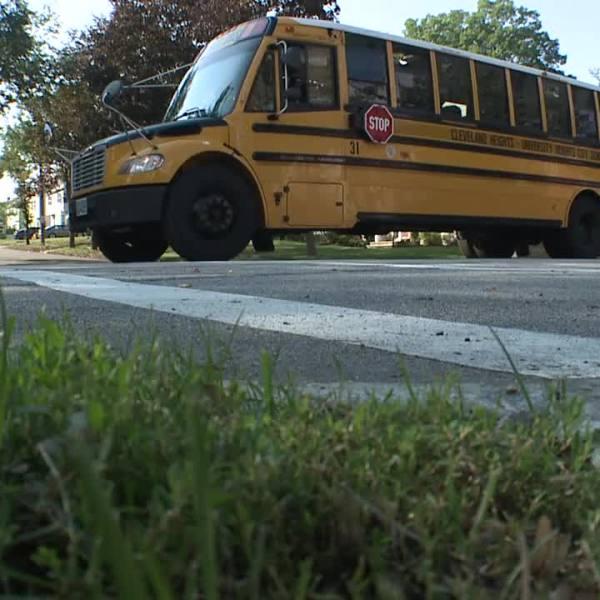 University Heights school bus